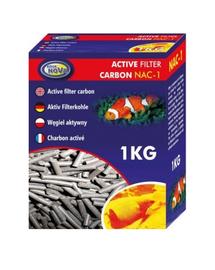 AQUA NOVA Cartus carbon activ pentru acvariu, 1 kg, NAC-1