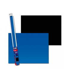 AQUA NOVA Fundal acvariu fata-verso, marime S, 60x30cm, albastru / negru