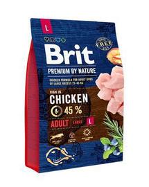 BRIT Premium By Nature Adult Large L 3 kg