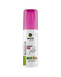 VACO Lichid pentru căpușe, țânțari și muște (pentru copii) 80 ml