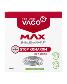 VACO Spirale pentru țânțari MAX 6 buc.
