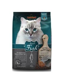 LEONARDO Adult Ocean Fish&Rice hrana uscata pisici adulte, cu peste si orez 0,4 kg