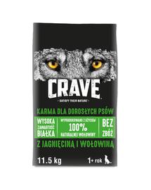 CRAVE Hrana uscata cu miel si carne de vita pentru cainii adulti 11,5 kg