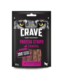 CRAVE Recompense fara cereale cu cereale pentru cainii 7x55g