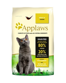 APPLAWS Cat Senior hrana uscata pisici senior, cu pui 2 kg