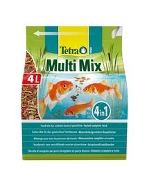 TETRA Pond Multi Mix hrana pentru pestii de iaz, 4 l