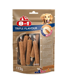 8IN1 Triple Flavour Ribs 6 buc.