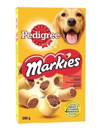 PEDIGREE Markies - Biscuiți crocanți umpluți cu măduvă osoasă 12 x 500 g