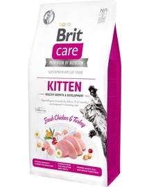 BRIT Care Cat Grain-Free Kitten Growth & Development hrana uscata pentru pui de pisica sau femele gestante, 2 kg