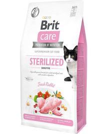 BRIT Care Cat Grain-Free Sterilized Sensitive hrana uscata pisici sterilizate cu tract digestiv sensibil 2 kg