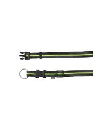 TRIXIE Zgardă M - L 35-55cm cm / 20 mm negru / verde