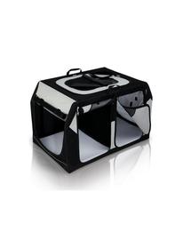 TRIXIE Cutie de transport pentru caini Vario, dubla, 91 x 61 / 57 x 60 cm