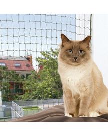 TRIXIE Plasa de protectie pentru pisici, verde 75 x 2 M