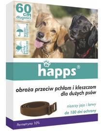 HAPPS Zgardă împotriva paraziților pentru câini de talie mare