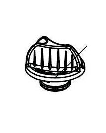 AQUAEL Clema cupola presiune filtru Fan-Mini / 1 plus