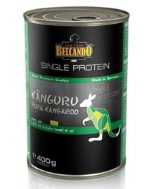 BELCANDO Single Protein hrana umeda pentru caini, cu carne de cangur, 400 g