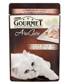 Gourmet A la carte somon cu legume 85 g