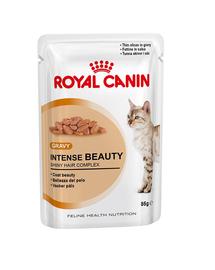 Royal Canin Intense Beauty Care Adult hrana umeda in aspic pisica pentru piele si blana sanatoase, 85 g