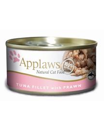 APPLAWS hrana umeda pentru pisici, ton si creveti 70 g