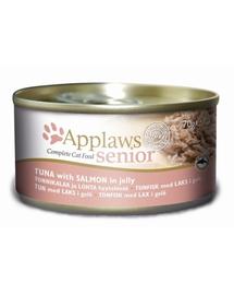 APPLAWS Senior Hrană umedă cu somon și ton 70 g