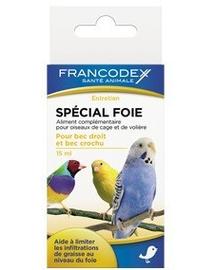 FRANCODEX Aliment complementar pentru păsări de colivie și volieră - protecție ficat 15 ml