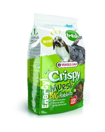 VERSELE-LAGA Crispy Muesli - Big Rabbits 2,75 kg - pentru iepuri