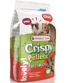 VERSELE-LAGA Crispy Pellets, granule pentru sobolani si soareci, 20kg