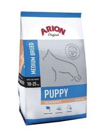 ARION Original Puppy Medium somon & orez 12 kg