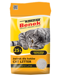 Benek Super natural 20 kg galben
