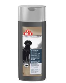 8IN1 Șamponpentru blană închisă Black Pearl 250 ml