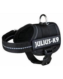 TRIXIE Ham pentru caini Julius-K9 XL: 82–116cm/50mm negru