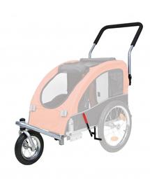 TRIXIE Kit conversie cărucior acoperit cu roți pentru jogging sau bicicletă 12814