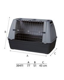TRIXIE Journey, cusca pentru transport caini sau pisici, dimensiunea S, 77x51x43 cm