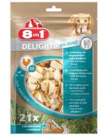 8IN1 Recompensă Dental Delights Bones XS 21 pcs.