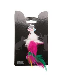 COMFY Jucărie mini șoricel cu pene 9 cm