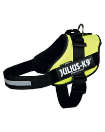 TRIXIE Ham pentru caini Julius-K9 IDC Mini-Mini/S: 40–53 cm, galben neon