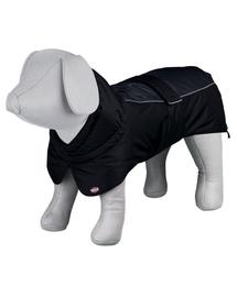TRIXIE Haină impermeabilă pentru câini Prime, M: 50 cm, negru/gri