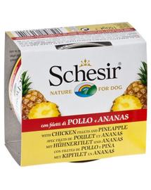 SCHESIR Fruit pui cu ananas 150 g