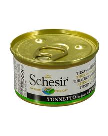 SCHESIR Ton cu fileuri de pui în aspic 85 g