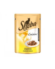 SHEBA Selection in Sauce cu pui 85 g