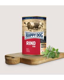 HAPPY DOG Rind Pur 400 g