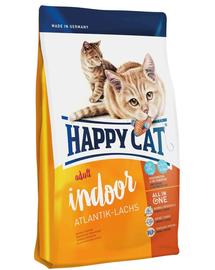 HAPPY CAT Fit & Well Indoor Adult somon 10 kg