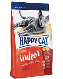 HAPPY CAT Fit & Well Indoor Adult vită 4 kg