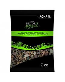 AQUAEL Pietriș natural multicolor 1,4-2 mm 2 kg