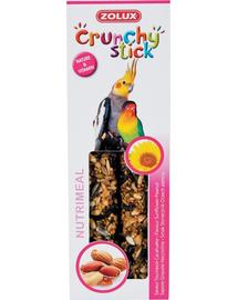 ZOLUX Crunchy Stick pentru papagali mari - floarea soarelui / alune de pădure 115 g