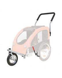 TRIXIE Kit conversie cărucior acoperit cu roți pentru jogging sau bicicletă 12816