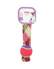 ZOLUX Jucărie din sfoară cu minge de tenis cerc 23 cm