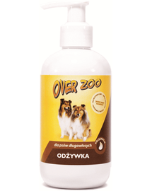 OVER ZOO Balsam intaritor pentru caini, par mediu si lung, 250 ml