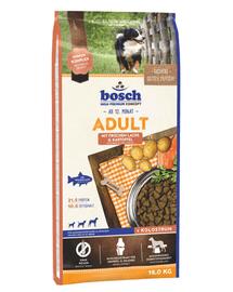 BOSCH Adult somon și cartofi 15 kg
