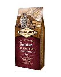 CARNILOVE Cat Energy & Outdoor Reindeer 2 kg